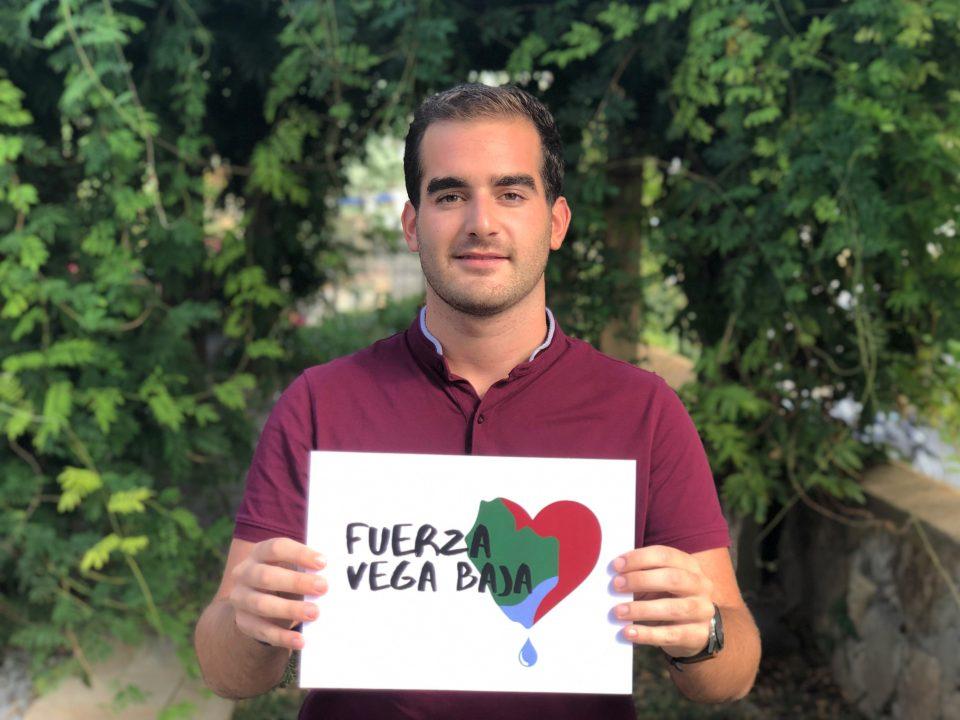 Álvaro Heredia está detrás del corazón #FuerzaVegaBaja 6