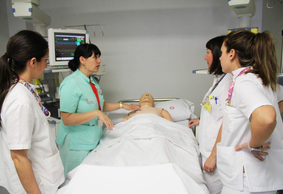 El Hospital de Torrevieja inaugura una unidad de entornos simulados 6