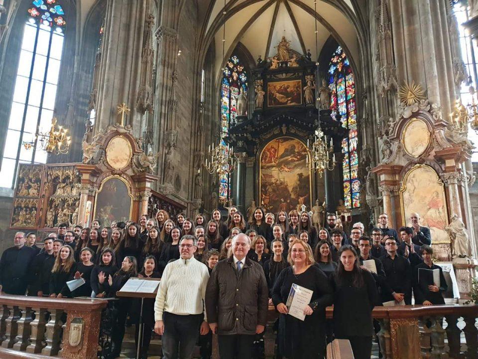 El Coro Ginés Pérez de la Parra de Orihuela conquista Viena 6