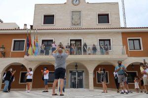 Guardamar celebró la Mascletá de San Juan con mascarillas y sin aglomeraciones 7