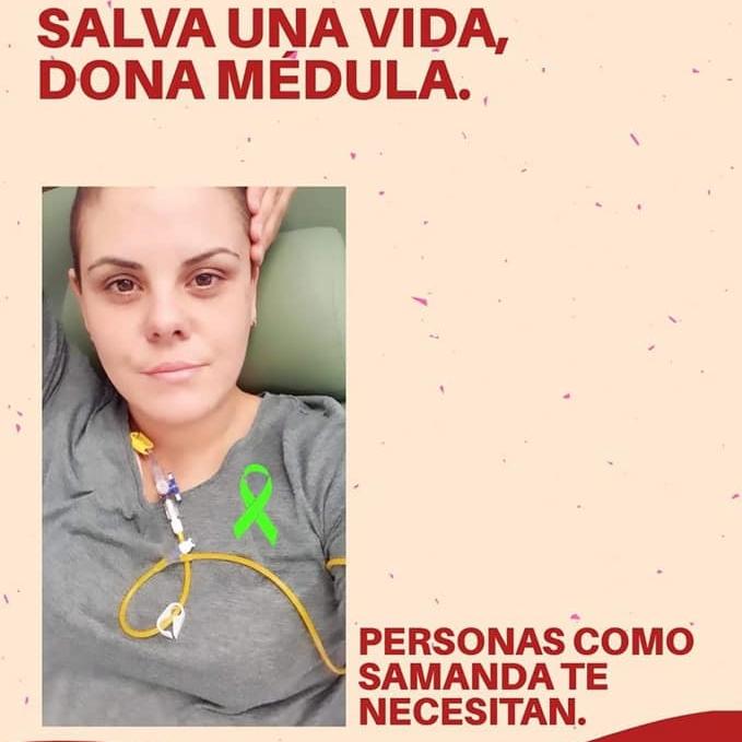 En busca de una médula para Samanda, una joven de Albatera con linfoma de Hodgkin 6