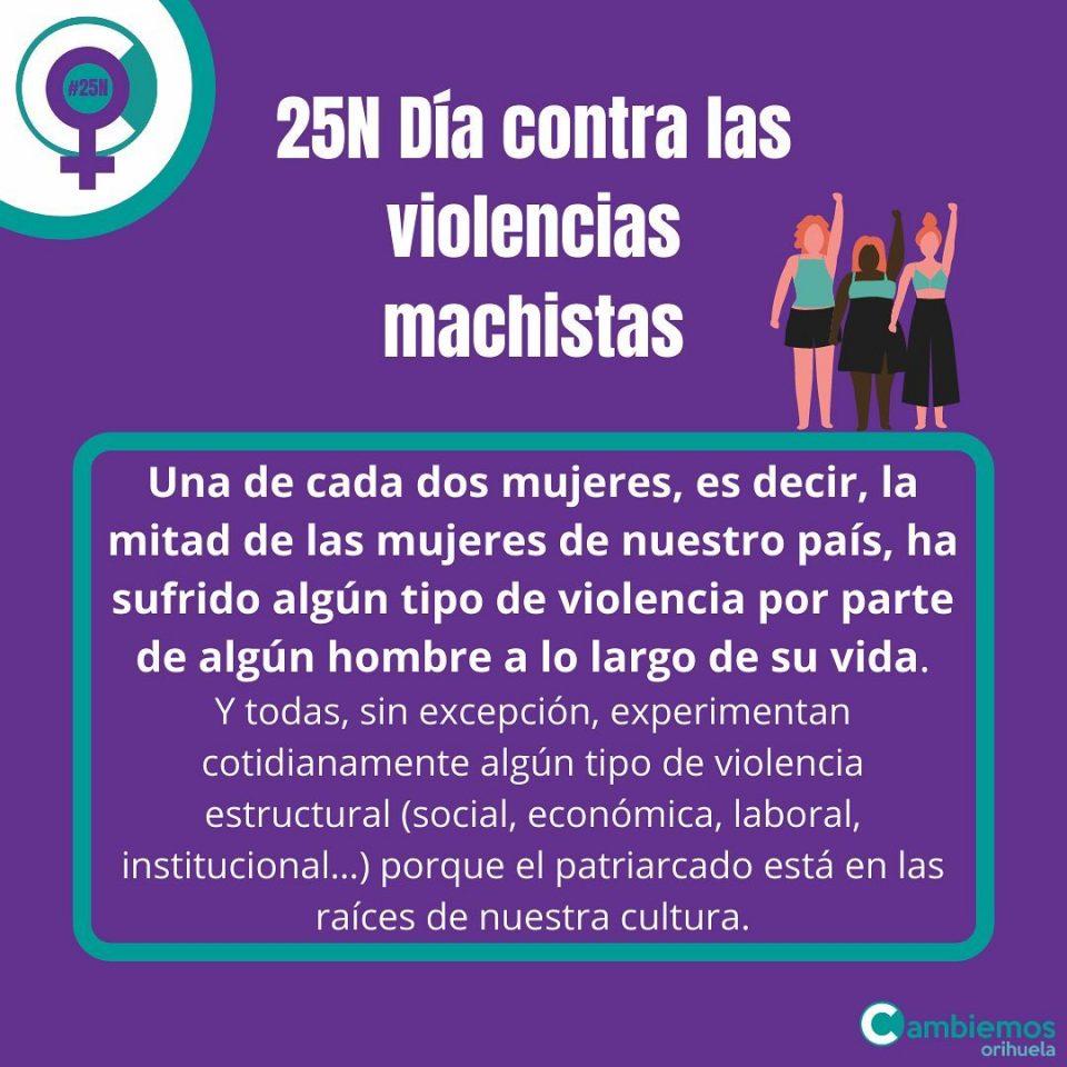 """Cambiemos Orihuela: """"La crisis sanitaria ha golpeado más fuerte a las mujeres"""" 6"""