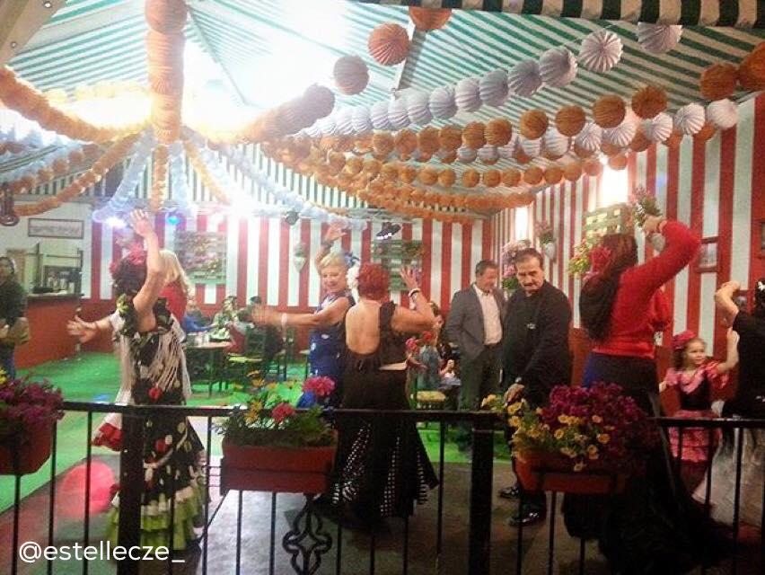 Todo preparado para la Feria de Sevillanas de Torrevieja 6