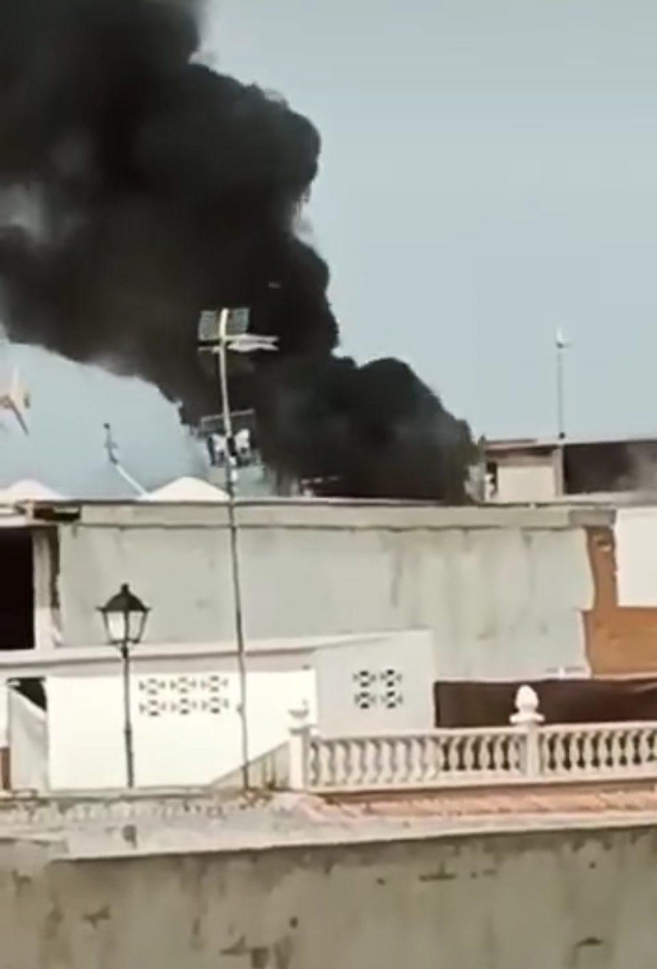 Sofocado un incendio sin heridos en La Murada 6