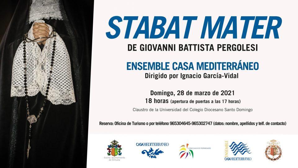 Orihuela acoge el concierto 'Stabat Mater' este Domingo de Ramos 6
