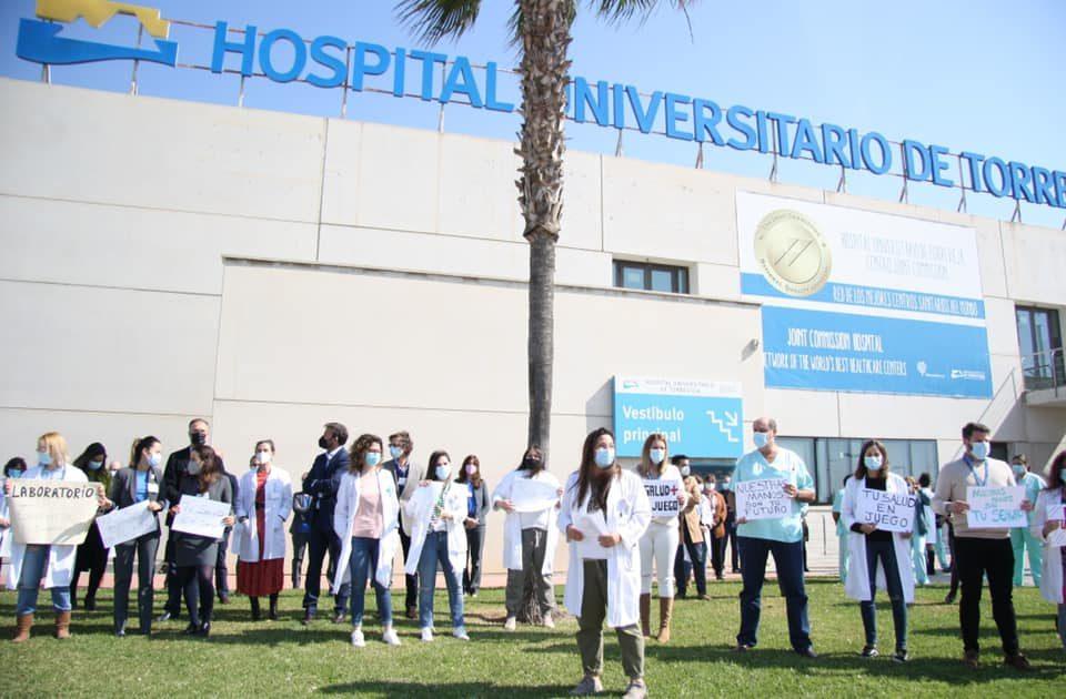 Sanidad asumirá la gestión directa del departamento de salud de Torrevieja 6