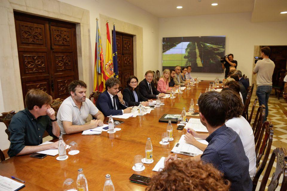 """Ximo Puig cifra el impacto económico por el temporal """"como mínimo"""" en 1.500.000.000 € 6"""