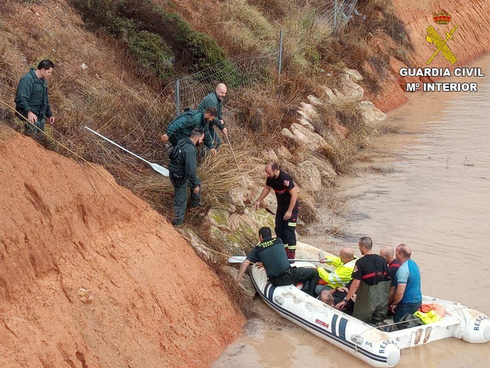 La Guardia Civil despliega cerca de 700 efectivos en la zona afectada por la DANA 6