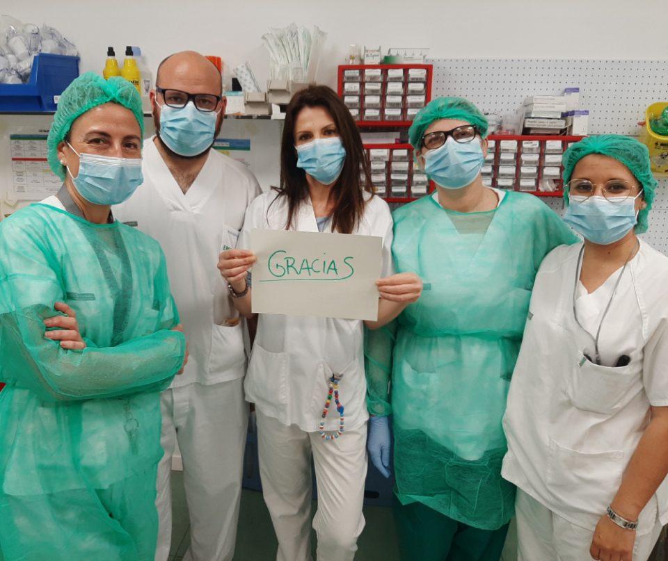 El Hospital Vega Baja se suma a la iniciativa de recibir cartas para animar a los pacientes 6