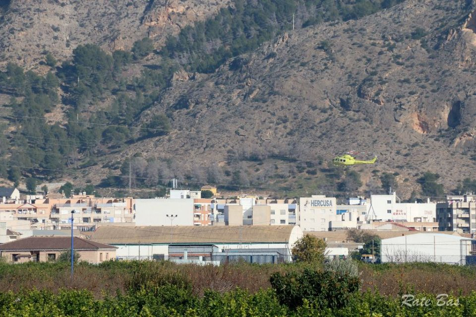 Un hombre herido en la sierra de Redován tras sufrir una caída 6