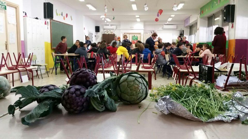 Los niños de Almoradí se acercan a las tradiciones de la Vega Baja 6