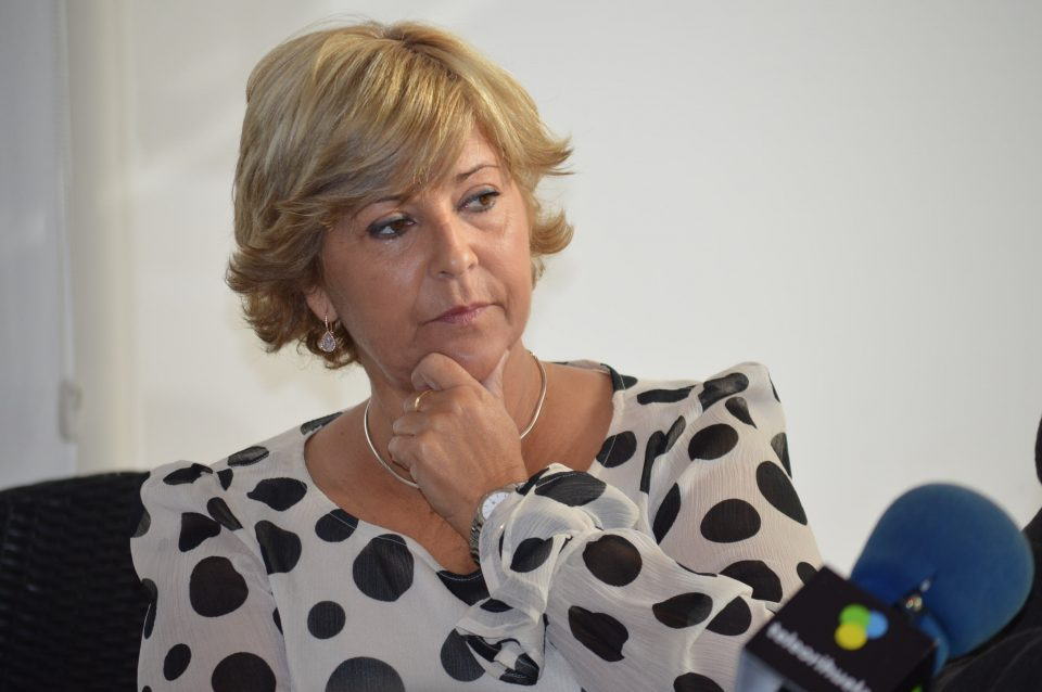 """""""Memento Mori"""" para Zaplana de la vicesecretaria comarcal del PSOE 6"""