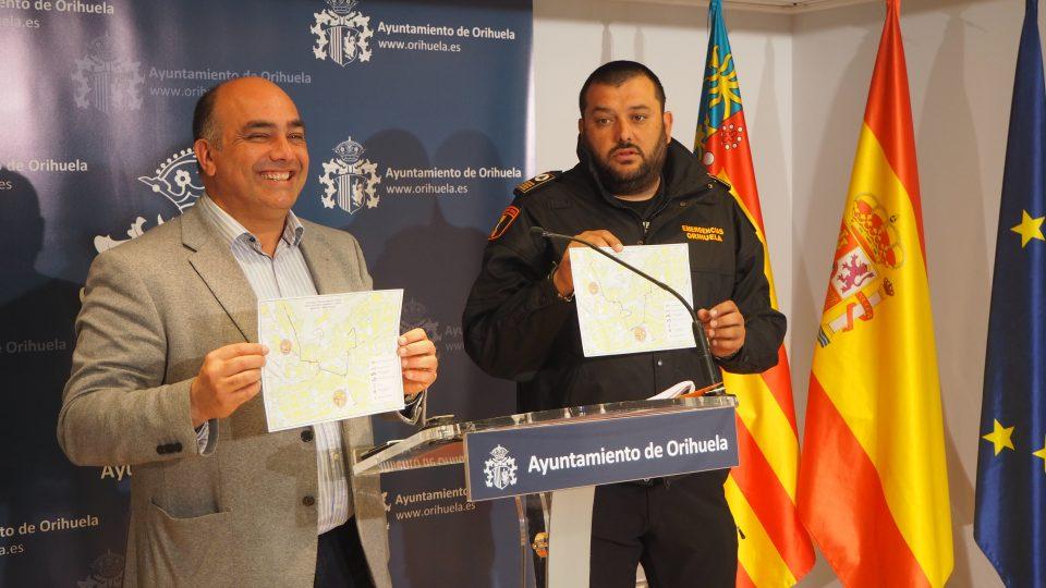 Orihuela presenta el Plan de Emergencias para esta Semana Santa 6