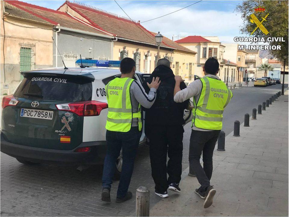 Detenido en Jacarilla un hombre que huía de la justicia búlgara desde hacía 8 años 6