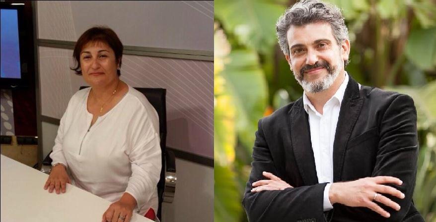 Natalia Maciá y Fran Maciá, candidatos a la secretaría general del PSOE de Callosa 6