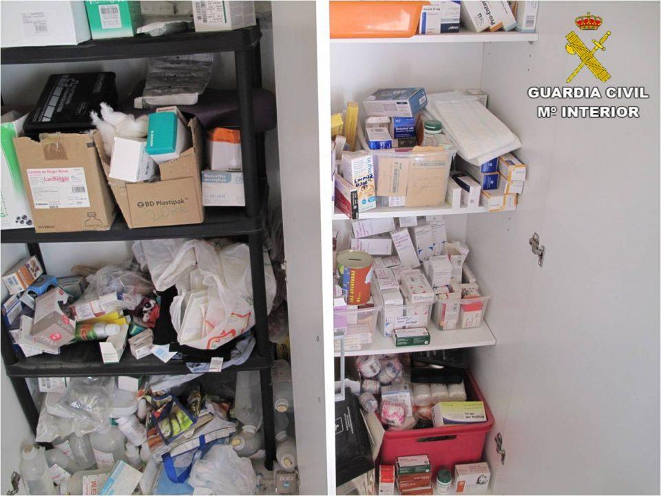 Intervenidos 312 medicamentos caducados en un centro de animales en Albatera 6
