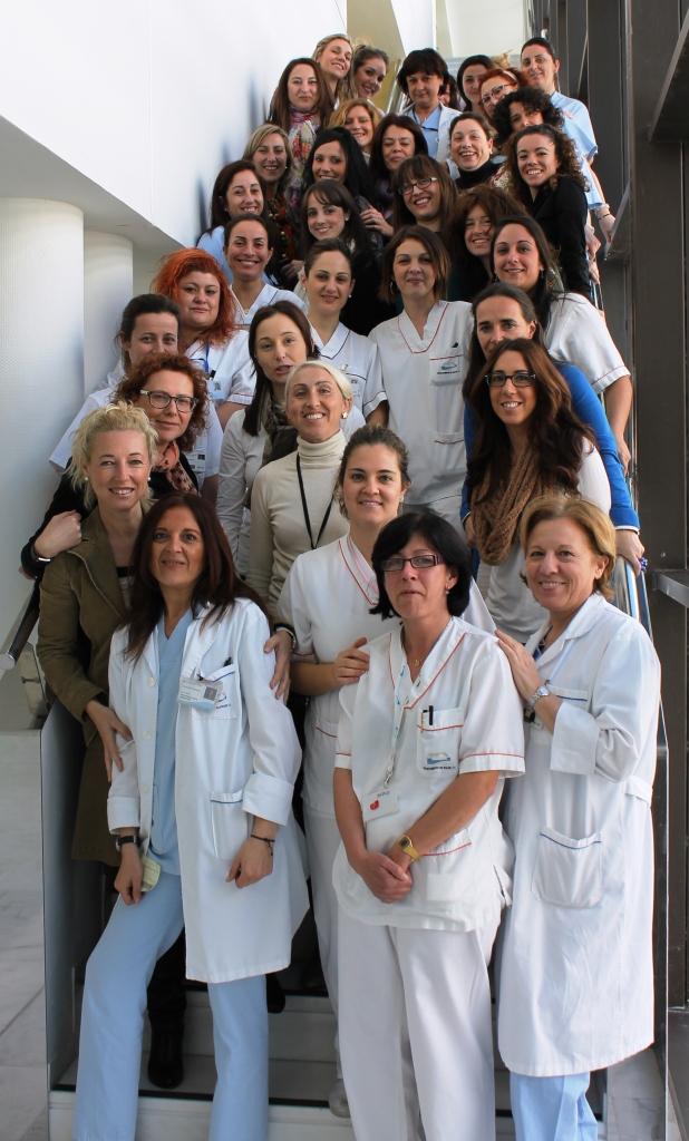 Un total de 40 mujeres ocupan cargos de responsabilidad en Torrevieja Salud 6