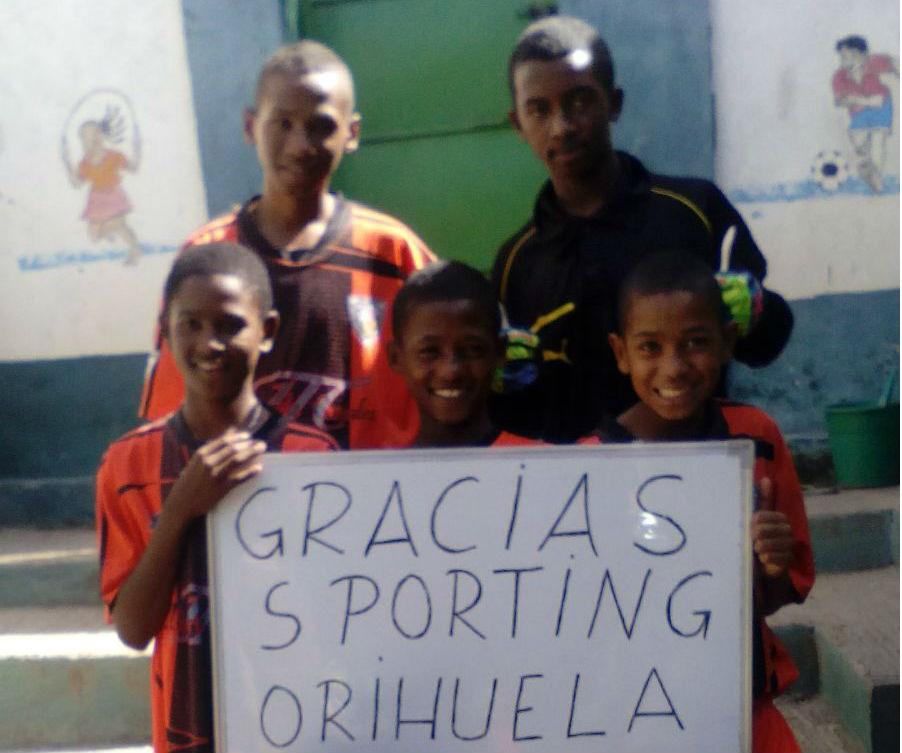 Gracias desde Madagascar al Sporting Orihuela 6