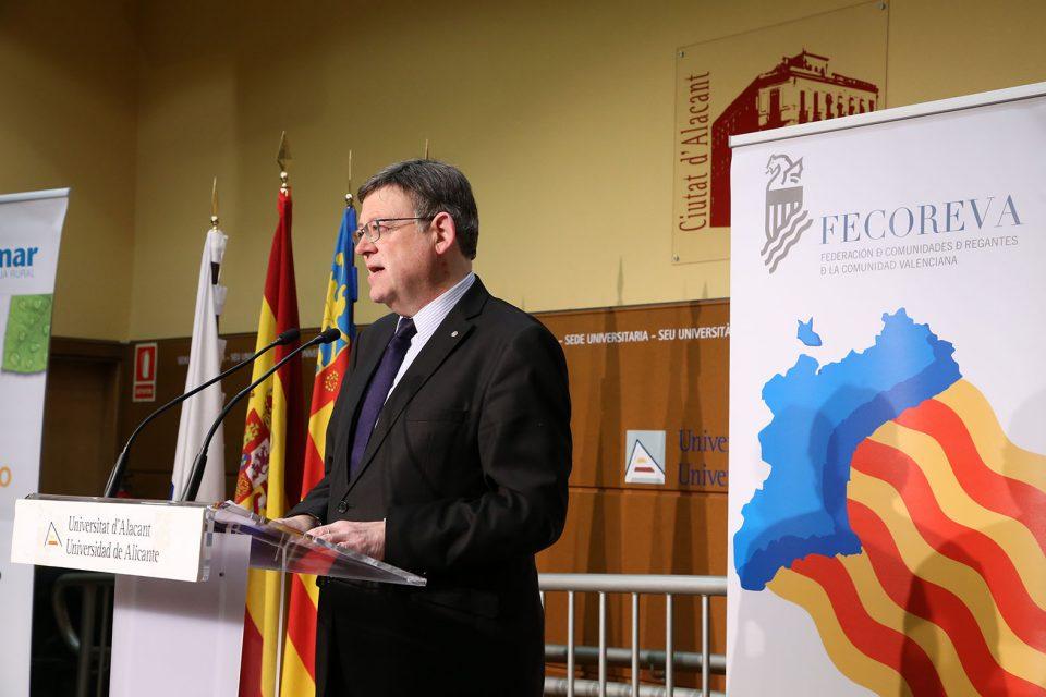 Puig pide al Gobierno central que active el trasvase Tajo-segura 6
