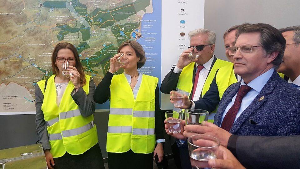 La Ministra de Agricultura anuncia que la desaladora de Torrevieja producirá 120 hm3 6