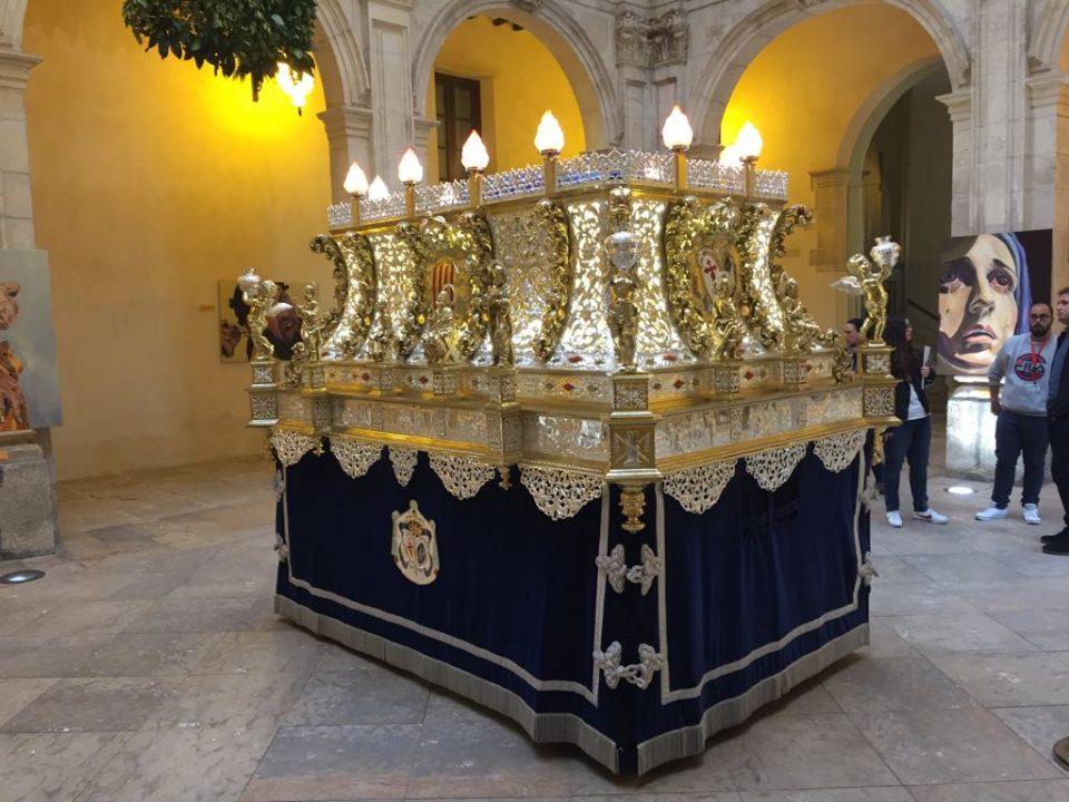 El Lavatorio expone el trono restaurado de San Pedro en su Arrepentimiento 6