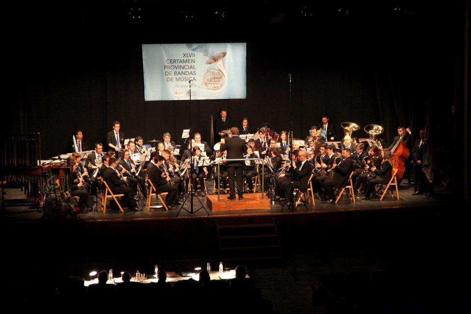 Las Bandas de Montesinos y San Bartolomé ganan el Certamen Provincial 6