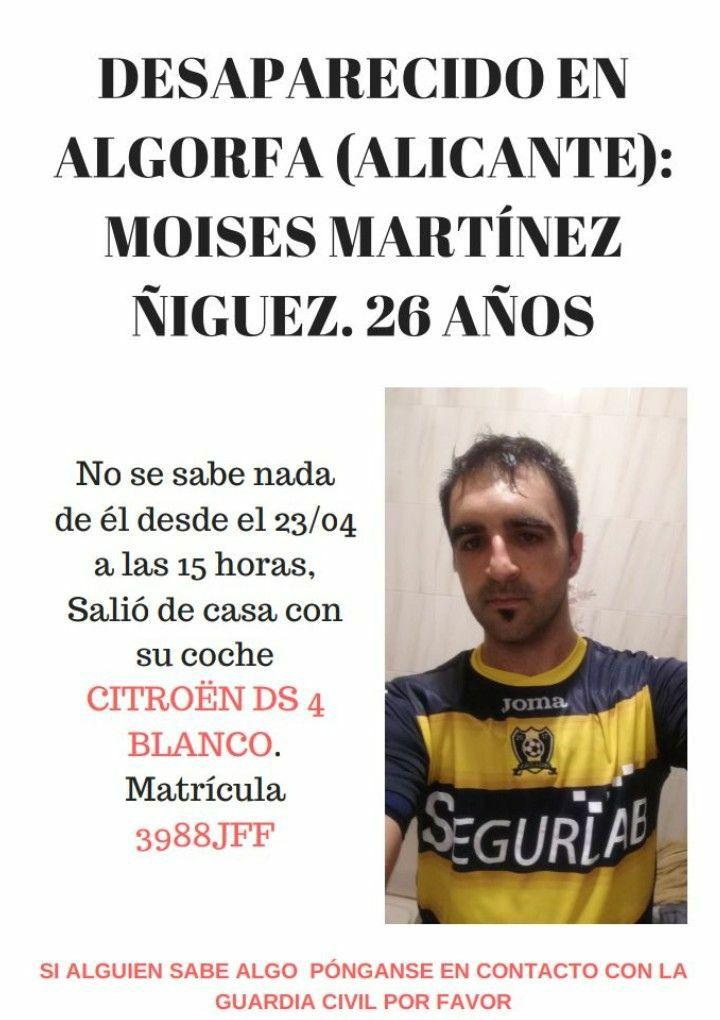 Se busca a un joven desaparecido en Algorfa 6