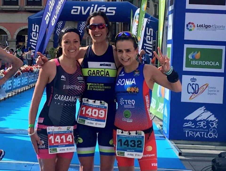 Sonia Gómez Heredia campeona de España de Duatlón por grupos de edad 6