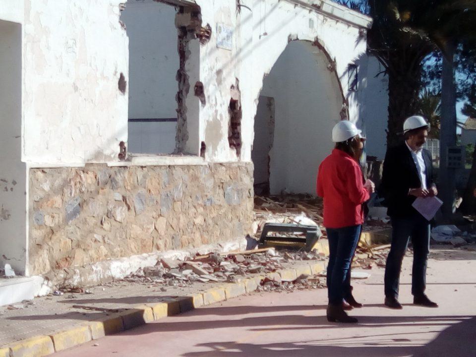 Se inician las obras en el colegio La Callosilla 6
