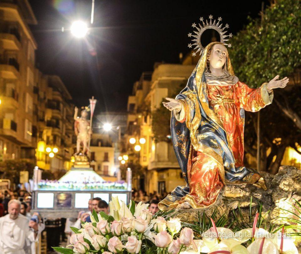 Una madrugada de Resurrección en Orihuela 6