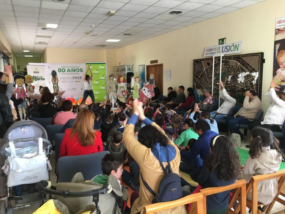 Medio centenar de niños ciegos asistieron a un cuentacuentos inclusivo 6