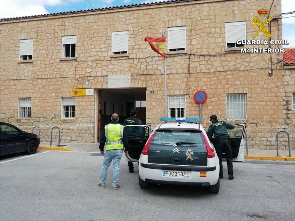 Detenido en Monforte tras cometer 5 delitos en la Vega Baja 6