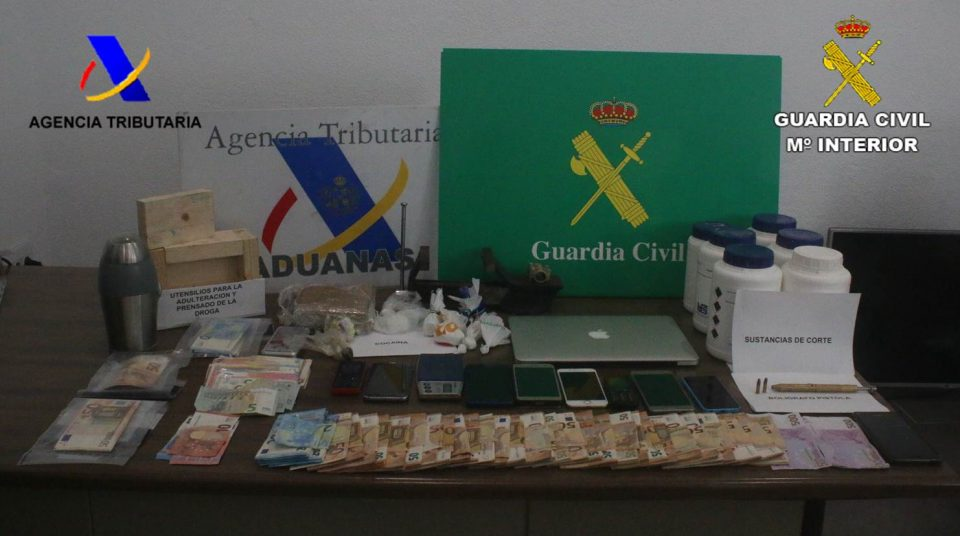 """La operación """"Alicafé"""" se salda con 21 traficantes en la Comarca 6"""