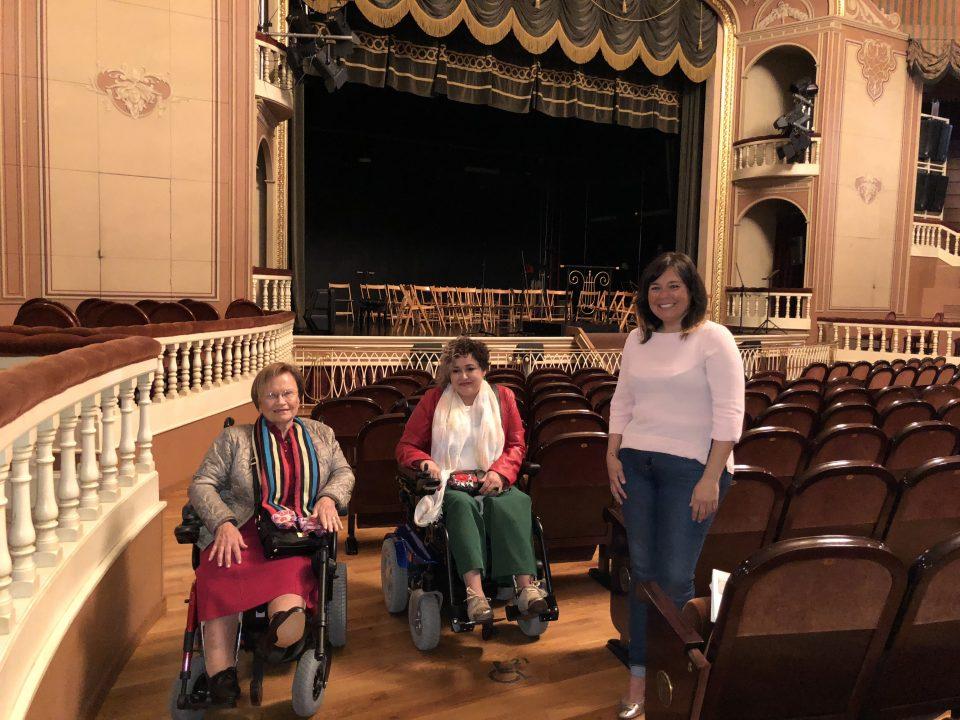 Cultura mejora la accesibilidad del Teatro Circo 6