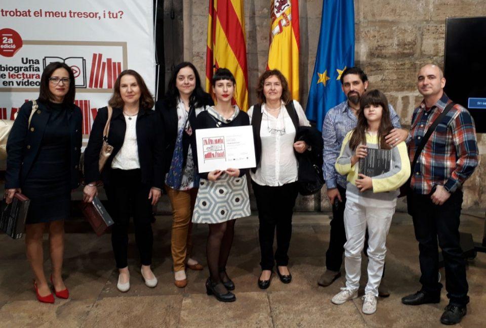 La Conselleria premia a Mirella Garcia de la Escuela de Adultos de Orihuela 6