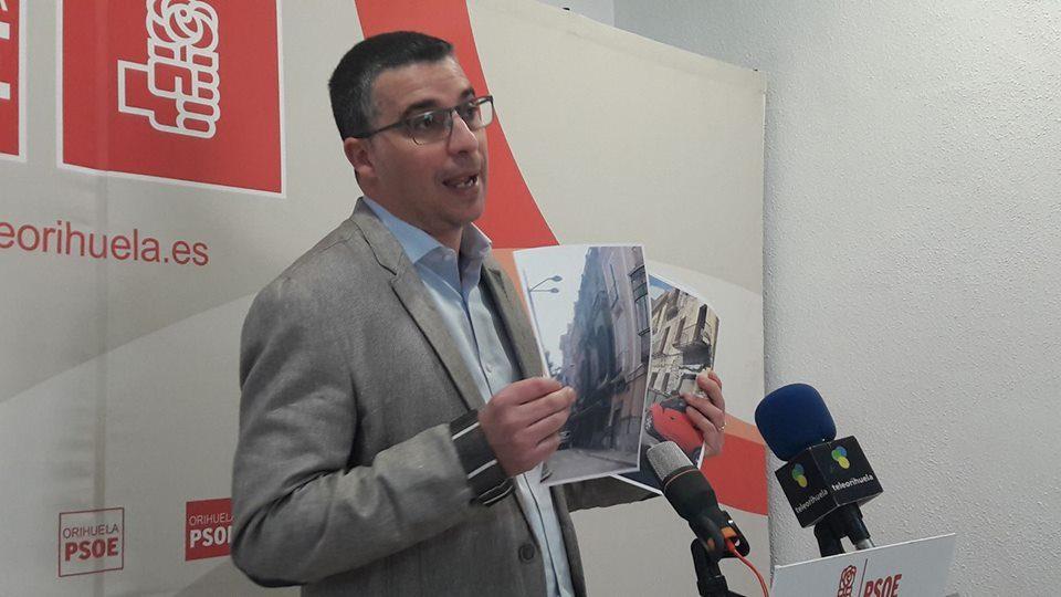 PSOE de Orihuela solicita al pleno mejorar el casco histórico 6