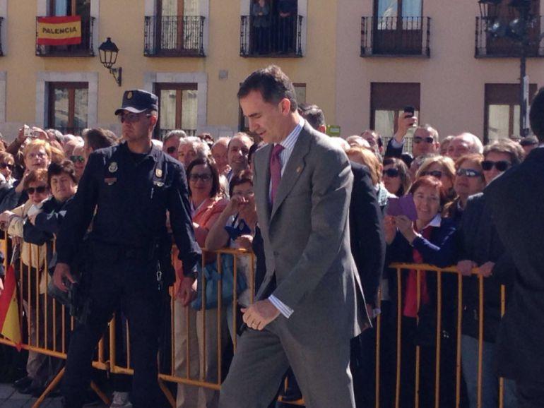 El Rey Felipe VI no asistirá al Congreso de Regantes 6