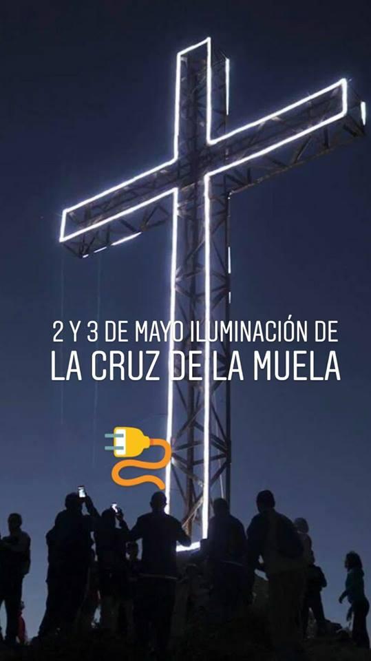 La Cruz de la Muela volverá este jueves a iluminar la Vega Baja 6