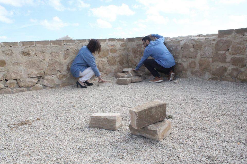 El castillo de Guardamar sufre actos vandálicos 6