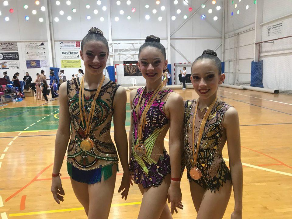 Lluvia de medallas para el Club Rítmica de Torrevieja 6