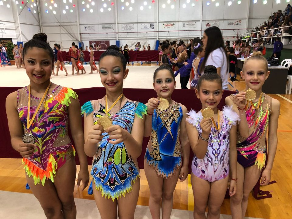 Provincial dorado para el Club Gimnasia Rítmica Torrevieja 6