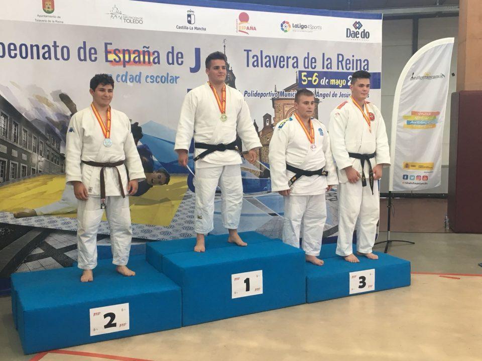 Rubén Bas logra el bronce en el Campeonato de España Escolar de Judo 6