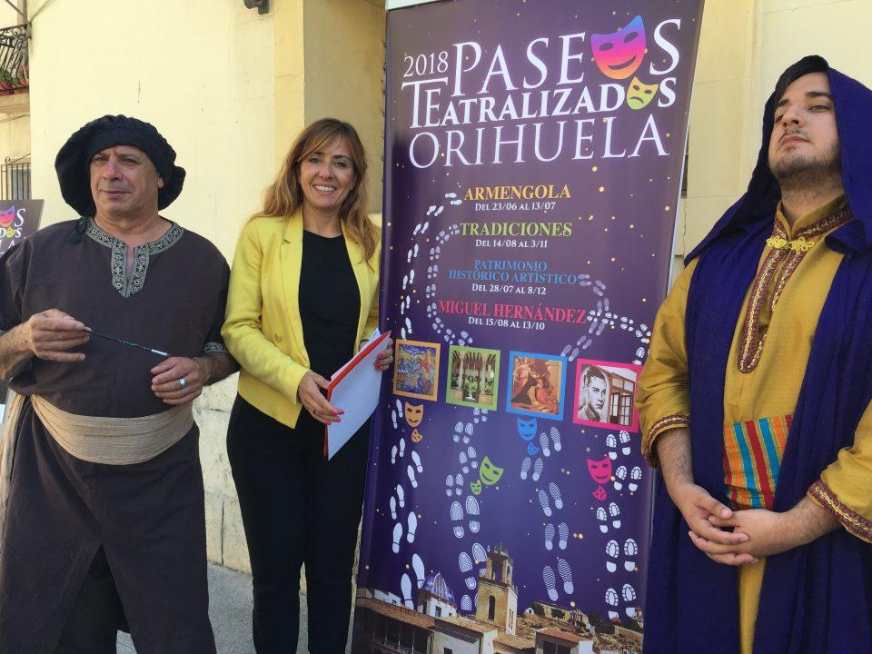 Turismo presenta una nueva edición de Paseos Teatralizados en Orihuela 6