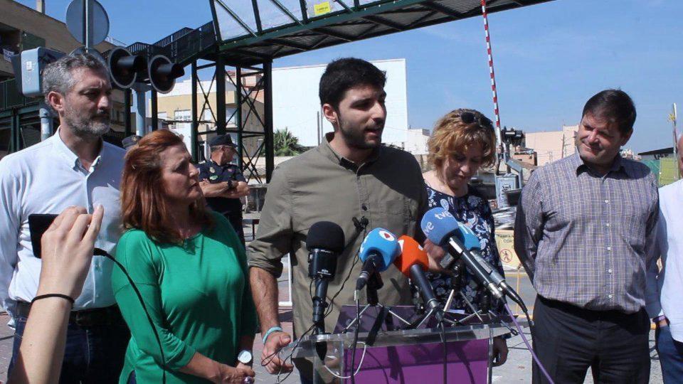 """Cambiemos se suma a la manifestación por unos """"cercanías dignos"""" 6"""
