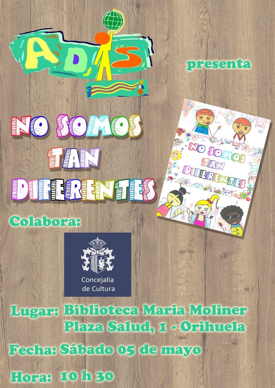 """ADIS presenta en la María Moliner """"No somos tan diferentes"""" 6"""