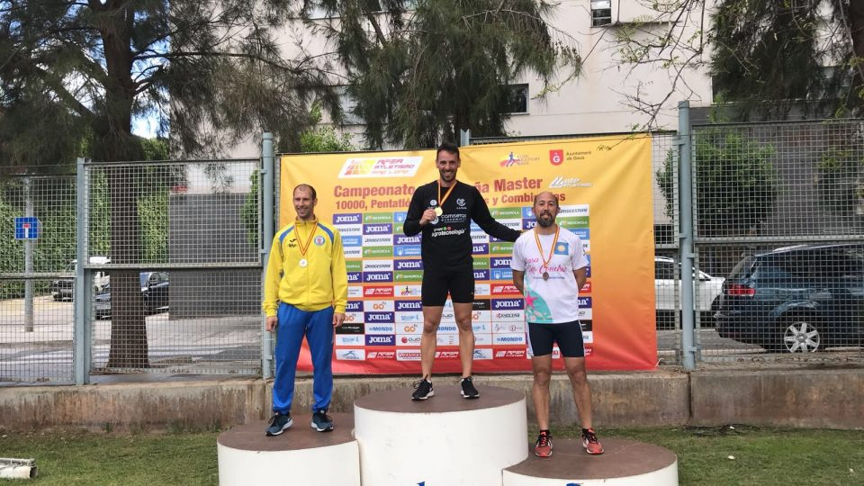 Jorge Sánchez gana el Oro en el Campeonato de España de pruebas combinadas 6