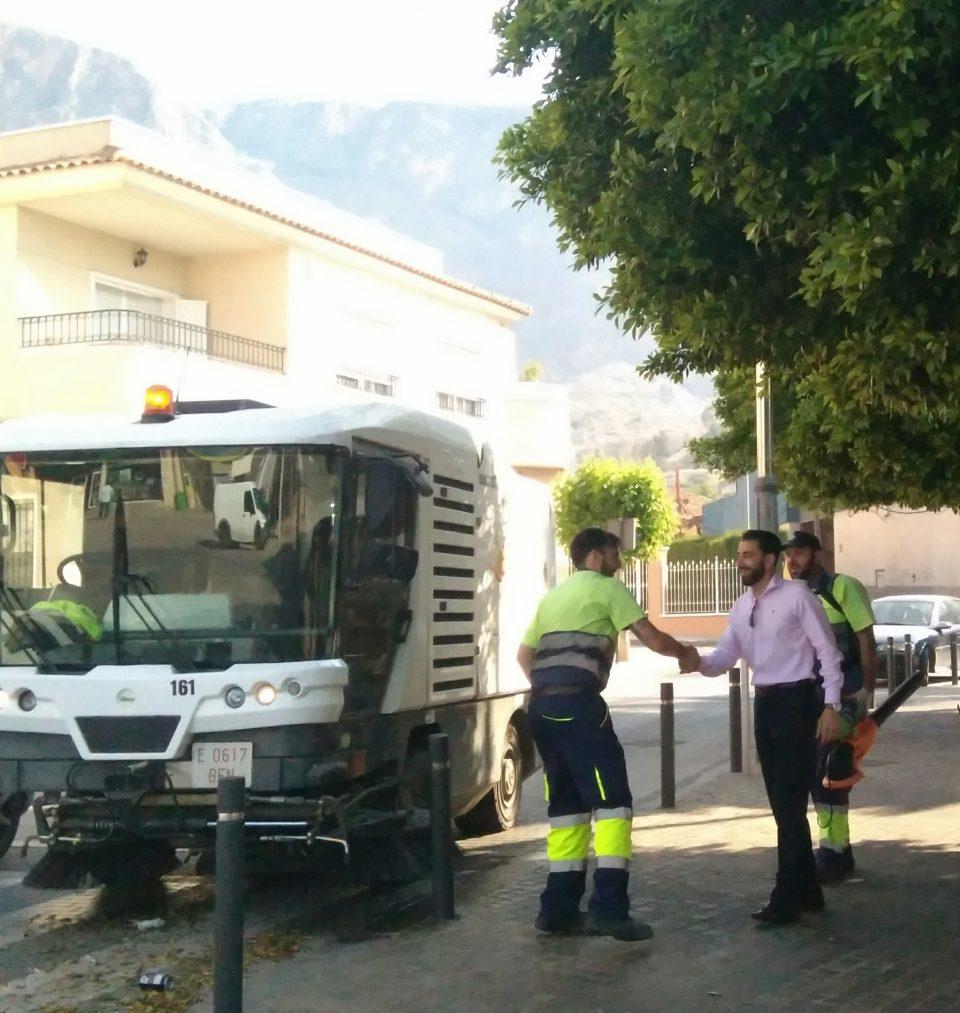 Limpieza Viaria Orihuela mejora su servicio para la temporada de verano 6