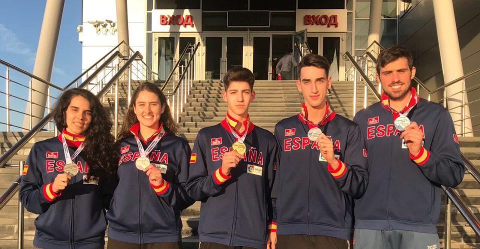 El catralense Daniel Ros consigue una medalla de plata en el Campeonato de Europa 6