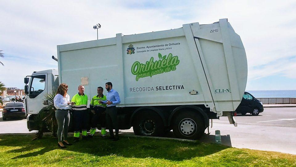 Orihuela recupera un nuevo camión recolector de RSU y lo destina a la costa 6