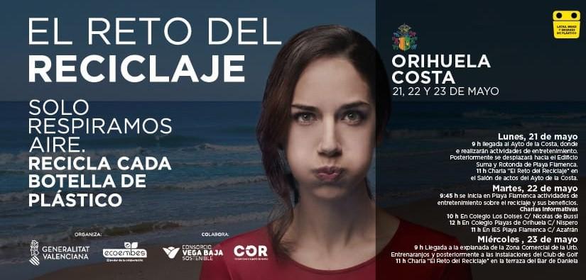 """""""El Reto del Reciclaje"""" llega a Orihuela Costa 6"""